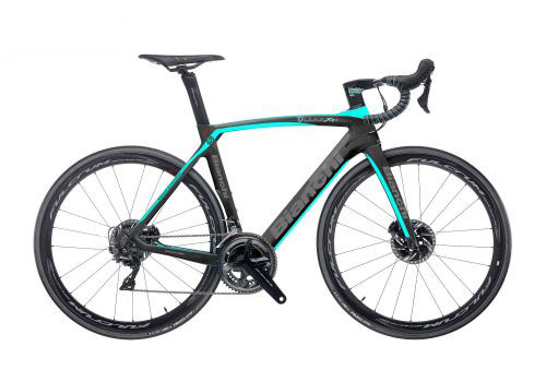 Bianchi Oltre XR.4 Disc Shimano STI Hydraulic equipped Carbon Bicycle, Matte Black