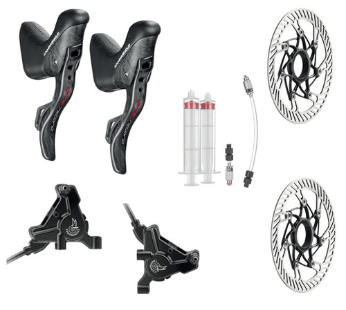 Campagnolo Super Record Hydraulic Flat Mount EPS 12 Speed Conversion Kit