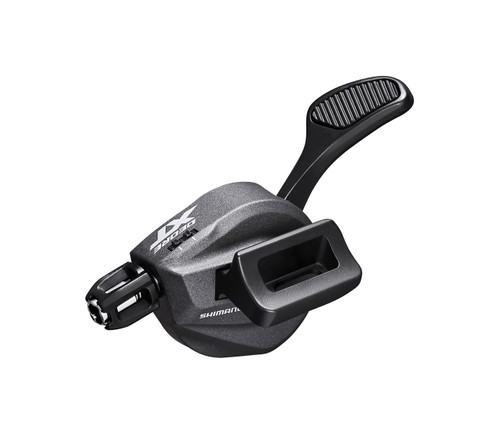 Shimano XT M8100 Left I-Spec EV 2x 12 Speed Shifter, side