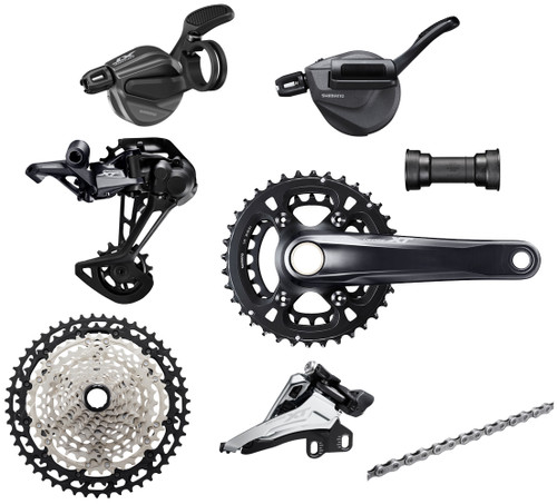 Shimano Deore XT M8100 12 Speed Groupset (less brake levers & calipers)