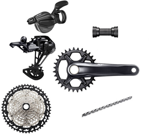 Shimano Deore XT M8100 1x12 Speed Groupset (less brake levers & calipers)