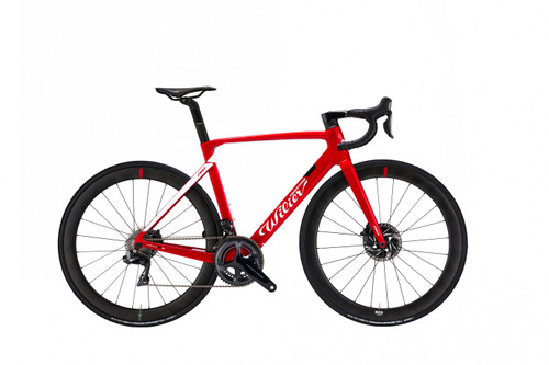 Wilier Disc SRAM 22 Hydraulic equipped Carbon Bicycle, Red & White - Build It Your Way