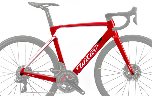 Wilier Cento 10 Pro Shimano STI Hydraulic equipped Carbon Bicycle, Red & White