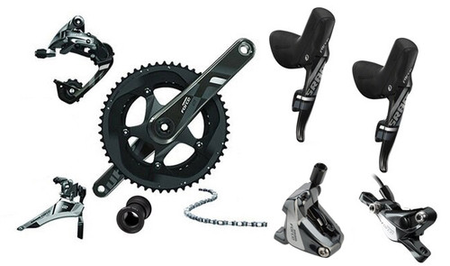 SRAM Force 22 Hydraulic Flat Mount Groupset (less cassette)