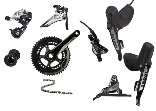 SRAM Rival 22 Hydraulic Groupset (less cassette)