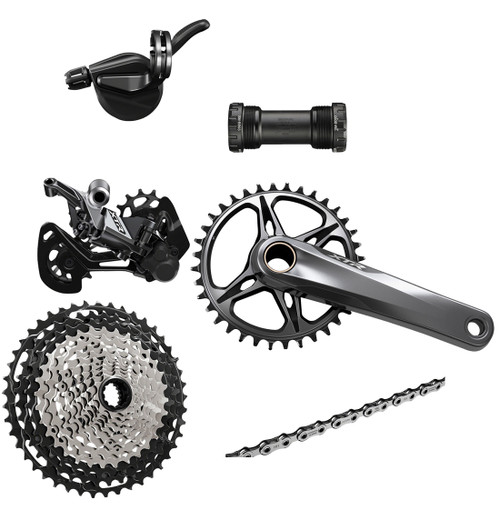 Shimano XTR M9100 1x12 Speed Groupset (less brake levers & calipers)