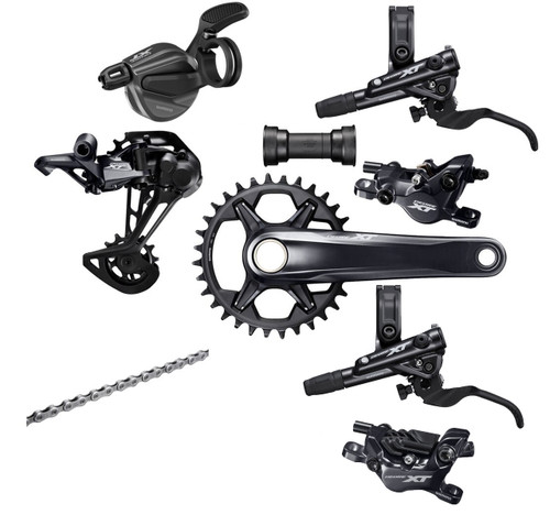Shimano Deore XT M8100 | M8120 1x12 Speed Groupset (less cassette)
