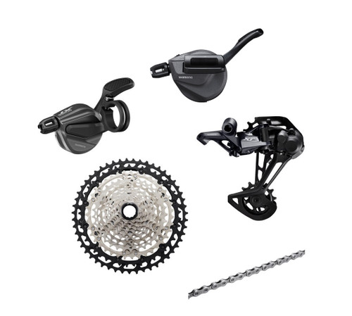 Shimano Deore XT M8100 4 piece 1x, 2x12 Speed Conversion Kit