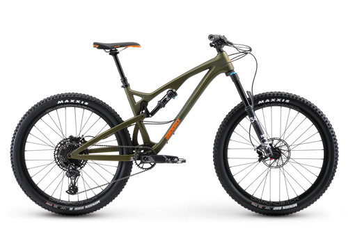 Diamondback Release 4C Carbon Full Suspension Mountain Bicycle