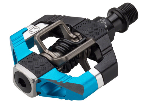 Crank Brothers Candy 7 Pedals, Electric Blue/Black