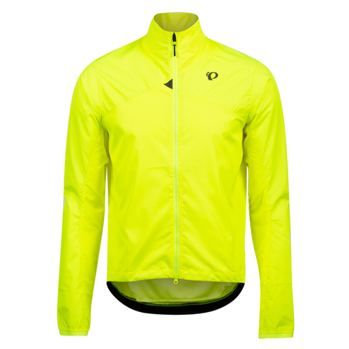 Pearl izumi BioViz Barrier Men's Jacket, Screaming Yellow / Reflective Triad, front