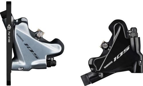 Shimano 105 BR-R7070 Hydraulic Flat Mount Brake Calipers