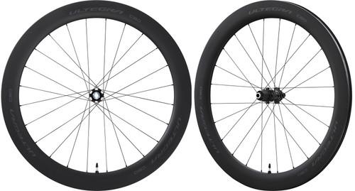 Shimano Ultegra R8170 C60, Tubeless Clincher, Disc-brake Wheelset