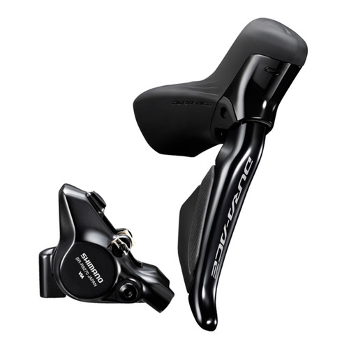 Shimano Dura-Ace ST-R9270 Hydraulic Di2 Levers, Hoses and BR-9270 Flat Mount Brake Calipers - Right Rear