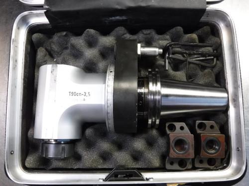 Alberti CAT50 Right Angle ER 32 Milling Attachment T90cn-3.5 (LOC905)