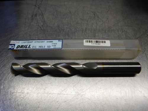 Nachi SG Oil Hole 5D 19.5mm HSS Drill 19.5mm Shank 19.5 L7596P (LOC870)