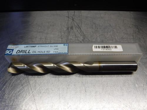 Nachi SG Oil Hole 5D 17mm HSS Drill 17mm shank 17.0 L7596P (LOC1108C)