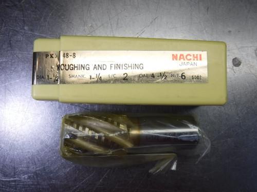 "Nachi 1.5"" Cobalt / HSS Endmill 1.25"" Shank 6 Flute PKX48-8 (LOC1879B)"