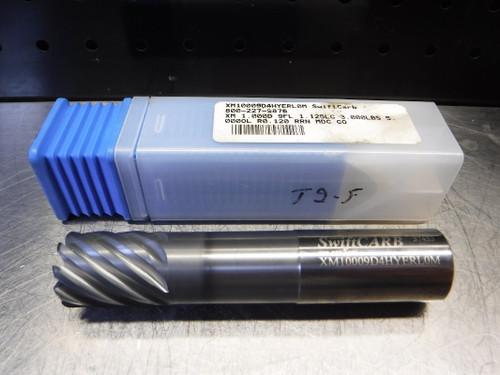 "SwiftCARB 1"" 9 Flute Carbide Endmill 1"" Shank XM10009D4HYERL0M (LOC2088C)"