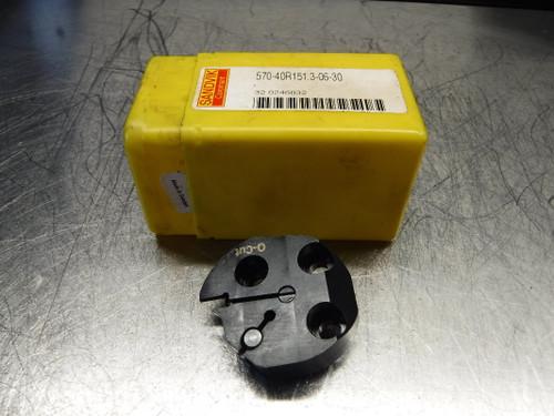 Sandvik SL40 Indexable Grooving Head 570-40R151.3-06-30 (LOC1045B)