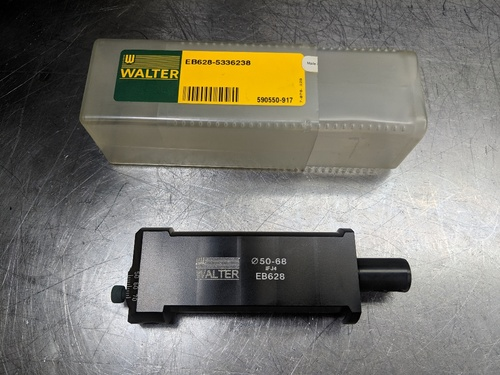 Walter 50mm-68mm Adjustable Boring Head 17mm Shank EB628 (LOC2147A)