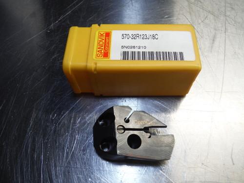 Sandvik Indexable Grooving Head 570-32R123J18C (LOC1421B)