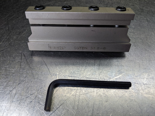 """Iscar 1.25"""" Parting/Grooving Adapter SGTBN 31.8-6 (LOC2888C)"""