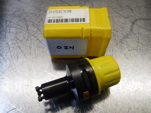 Sandvik Capto C4 to CoroTurn SL Boring Bar Adapter C4-570-2C 16 048 (LOC683B)