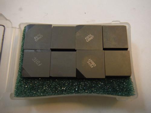 Futuretech PCD Tipped Carbide Inserts Qty16 SPC 42 E D01 (LOC564)