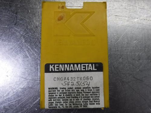 Kennametal Ceramic Inserts QTY10 CNGA 432 TK060 (LOC1479)