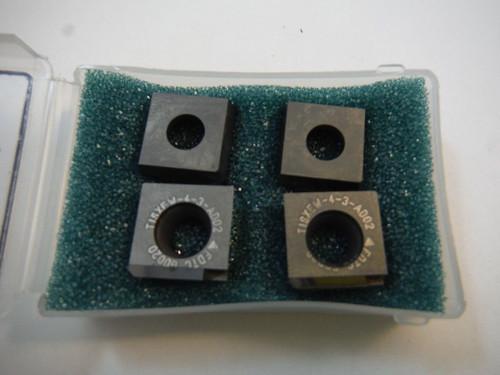 Futuretech PCD Tipped Carbide Inserts Qty4 3/4 Strip SXEW 43 A AD02 (LOC563B)