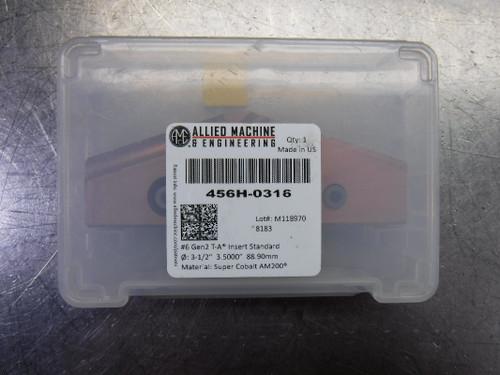 """AMEC #6 T-A 3.5"""" Spade Drill Insert QTY1 456H-0316 (LOC1903A)"""