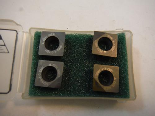 Futuretech PCD Tipped Carbide Inserts QTY4 TISPMW-4-3ED01 / SPMW 43E (LOC556)
