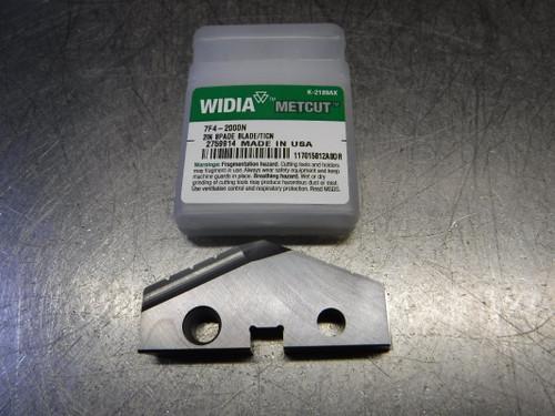 """Widia 2"""" HSS Spade Drill Insert 7F4-2000N (LOC2839B)"""