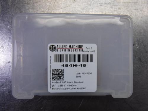 AMEC #4 T-A 48mm Spade Drill Insert QTY1 454H-48 (LOC1903A)