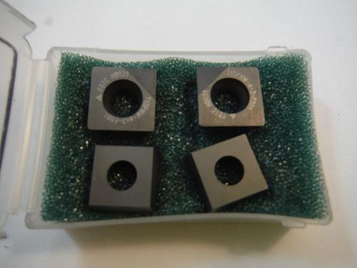 Futuretech PCD Tipped Carbide Inserts Qty4 SPMW 434 D01 (LOC557)