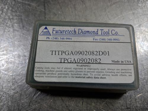 Futuretech PCD Carbide Insert TPGA090282 / TITPGA0902082D01 (LOC558B)