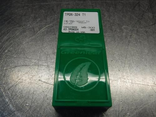 Greenleaf Ceramic Inserts QTY10 TPGN-324 T1 WG-300 (LOC1099B)