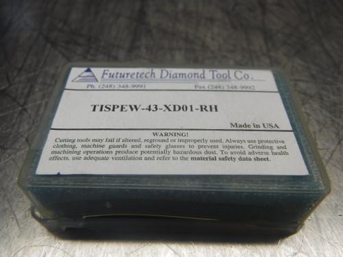 Futuretech PCD Carbide Inserts QTY2 TISPEW-43-XD01-RH (LOC887)