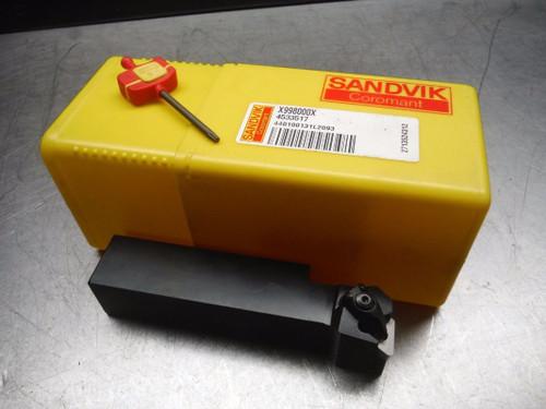 """Sandvik Lathe Tool Holder 1"""" x 1"""" Shank DTFNL 16 3D (LOC2364)"""