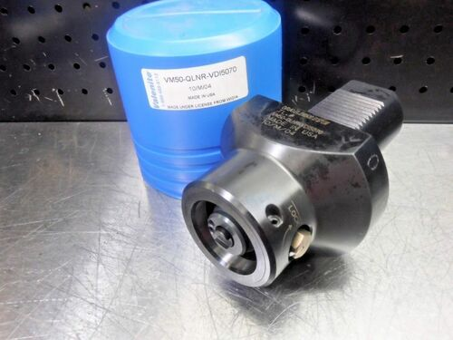 Valenite VDI50 to KM50 Clamping Unit VM50-QLNR-VDI5070 (LOC993A)
