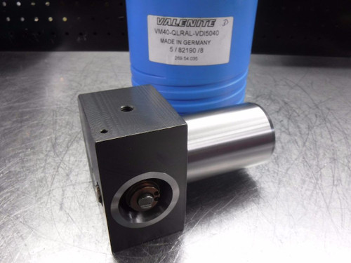 Valenite VDI50 Shank VM/KM 40 Clamping Unit VM40-QLRAL-VDI5040 (LOC185)