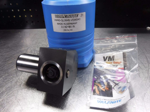 Valenite VDI40 Shank VM/KM 40 Clamping Unit VM40-QLRAR-VDI4040 (LOC1026A)