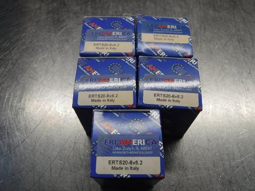 ERI America ERTS20 Tapping Collets QTY5 ERTS20-8x6.2 (LOC2988D)