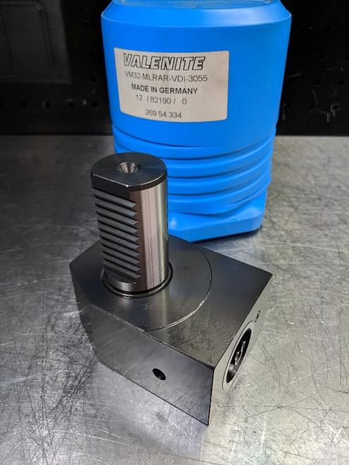 Valenite VDI30 to KM32 90 Degree Clamping Unit VM32-MLRAR-VDI-3055 (LOC2017A)