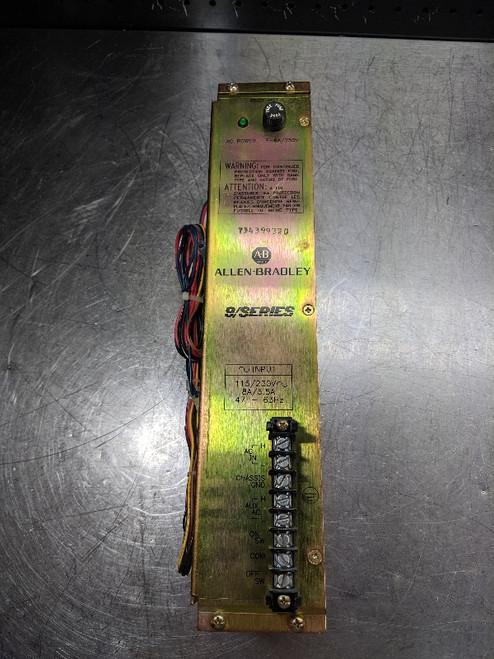 Allen-Bradley 9/Series Power Supply Module 8520-PS1 (LOC2862B)