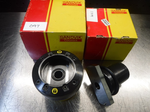 "Sandvik Varilock 80 Adapter to 1.25"" Endmill 391.277-0280045A (LOC674)"