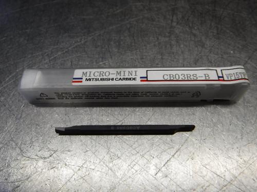 Mitsubishi Micro-Mini Carbide Boring Bar CB03RS-B VP15TF (LOC1619)