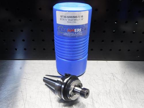 """ERI America BT30 Facemill 1/2"""" Arbor 1.18"""" Pro BT30-SM0500-1.18 (LOC1830B)"""
