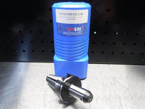 "ERI America BT30 1/8"" Endmill 2.36"" Projection BT30-EM0125-2.36 (LOC1829B)"
